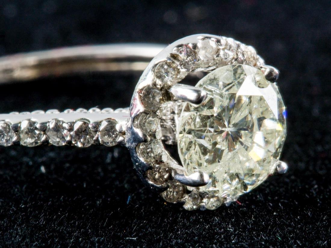 1.15ct & 0.35ct Diamond Ring CRV $20300