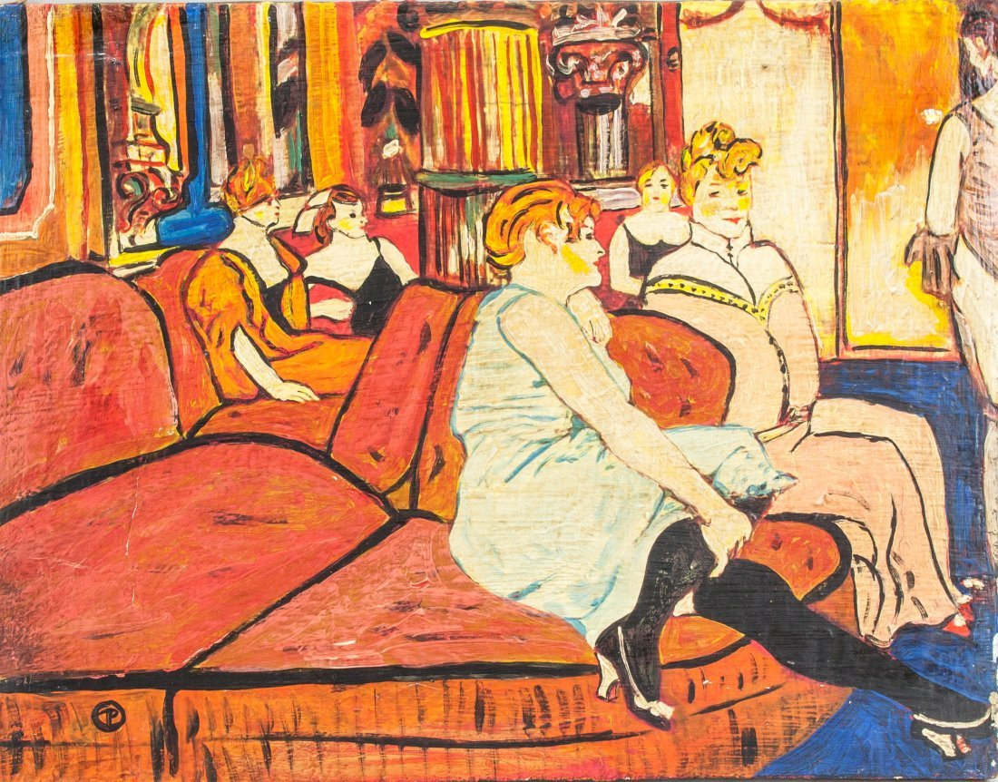 Henri de Toulouse-Lautrec Style OOC