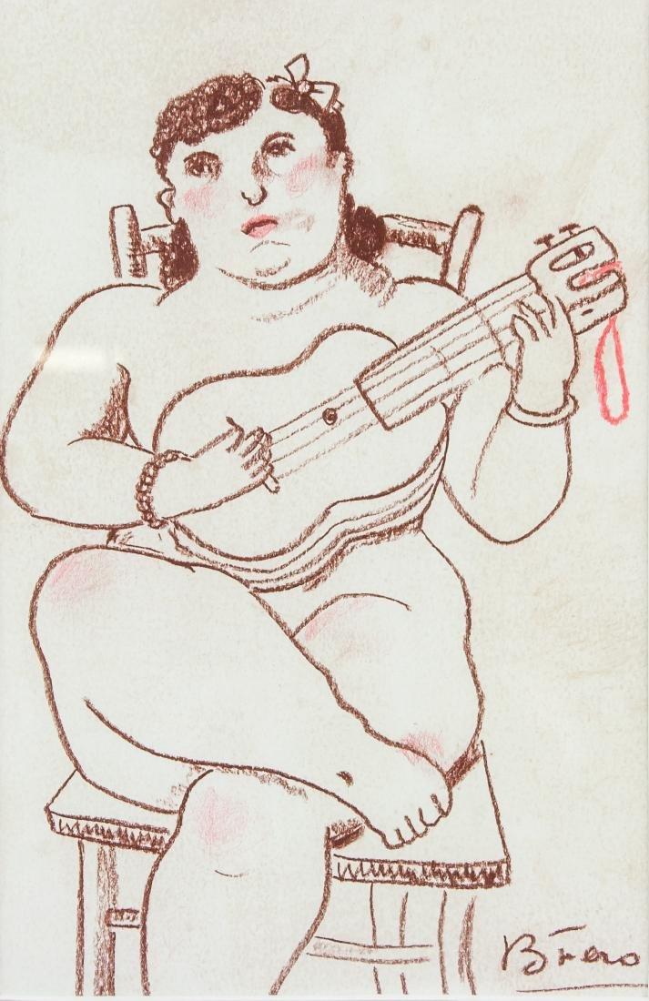 FERNANDO BOTERO Colombian, b. 1932 Pencil on Paper