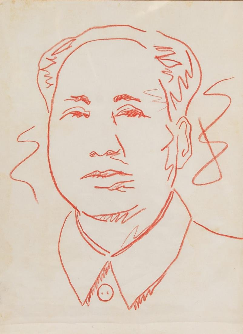 ANDY WARHOL American 1928-1987 Ink on Paper