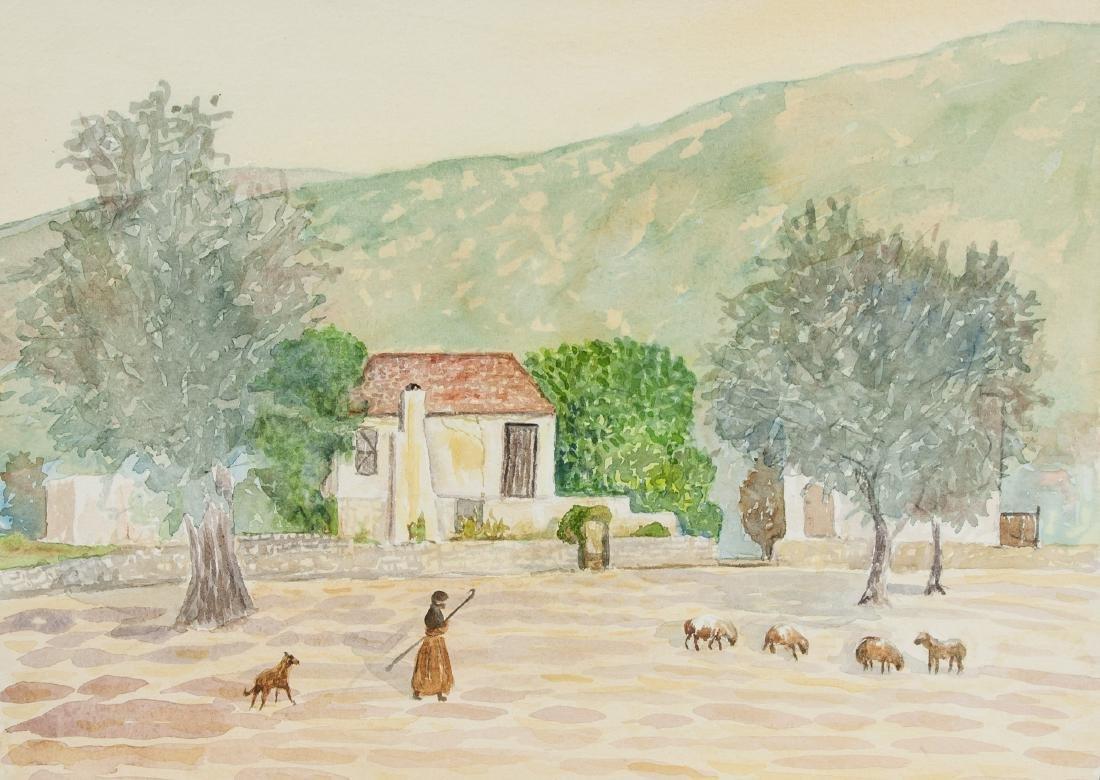 WINIFRED NICHOLSON British 1893-1981 Watercolor