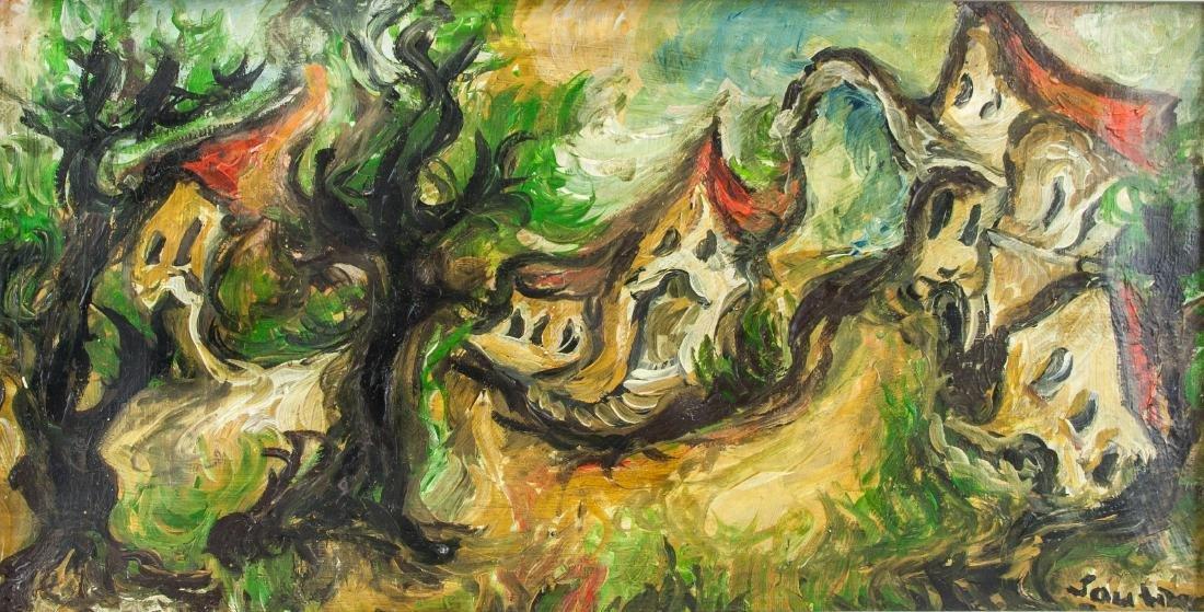 CHAIM SOUTINE Russian 1893-1943 Oil on Canvas