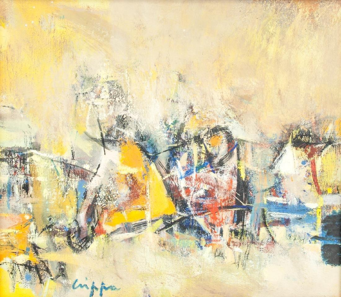 ROBERTO CRIPPA Italian 1921-1972 Oil on Canvas