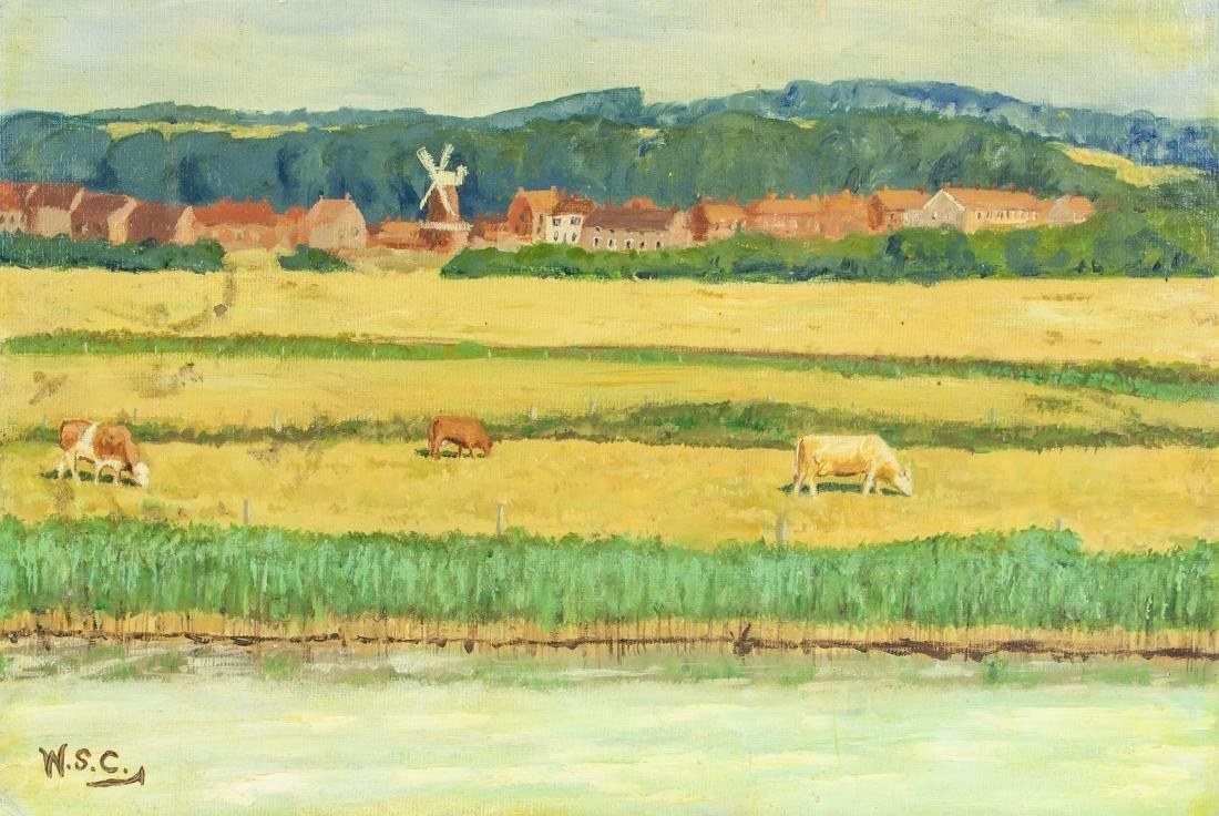 WINSTON CHURCHILL British 1874-1965 OOB Landscape