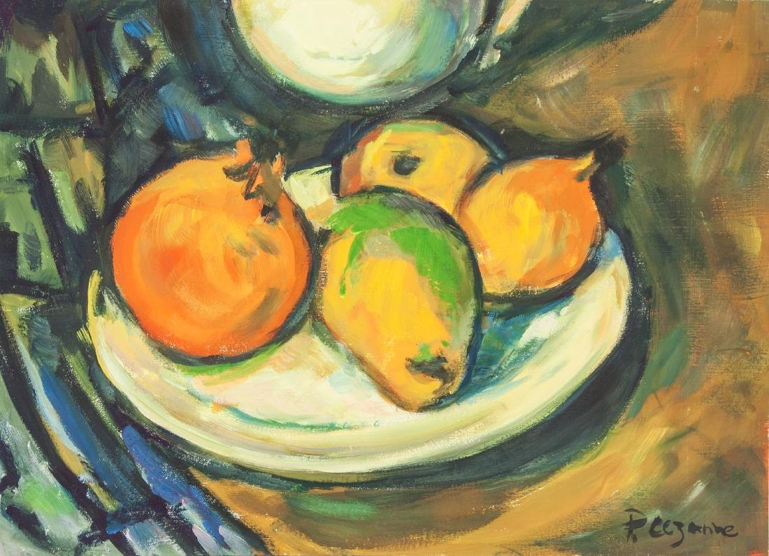 PAUL CEZANNE French 1839-1906  Tempera on Paper