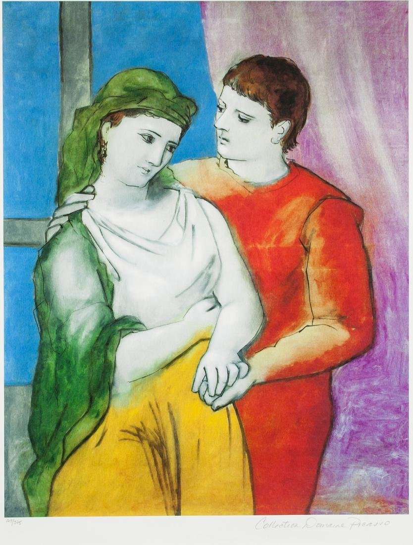 PABLO PICASSO Spanish 1881-1973 Domanie Print