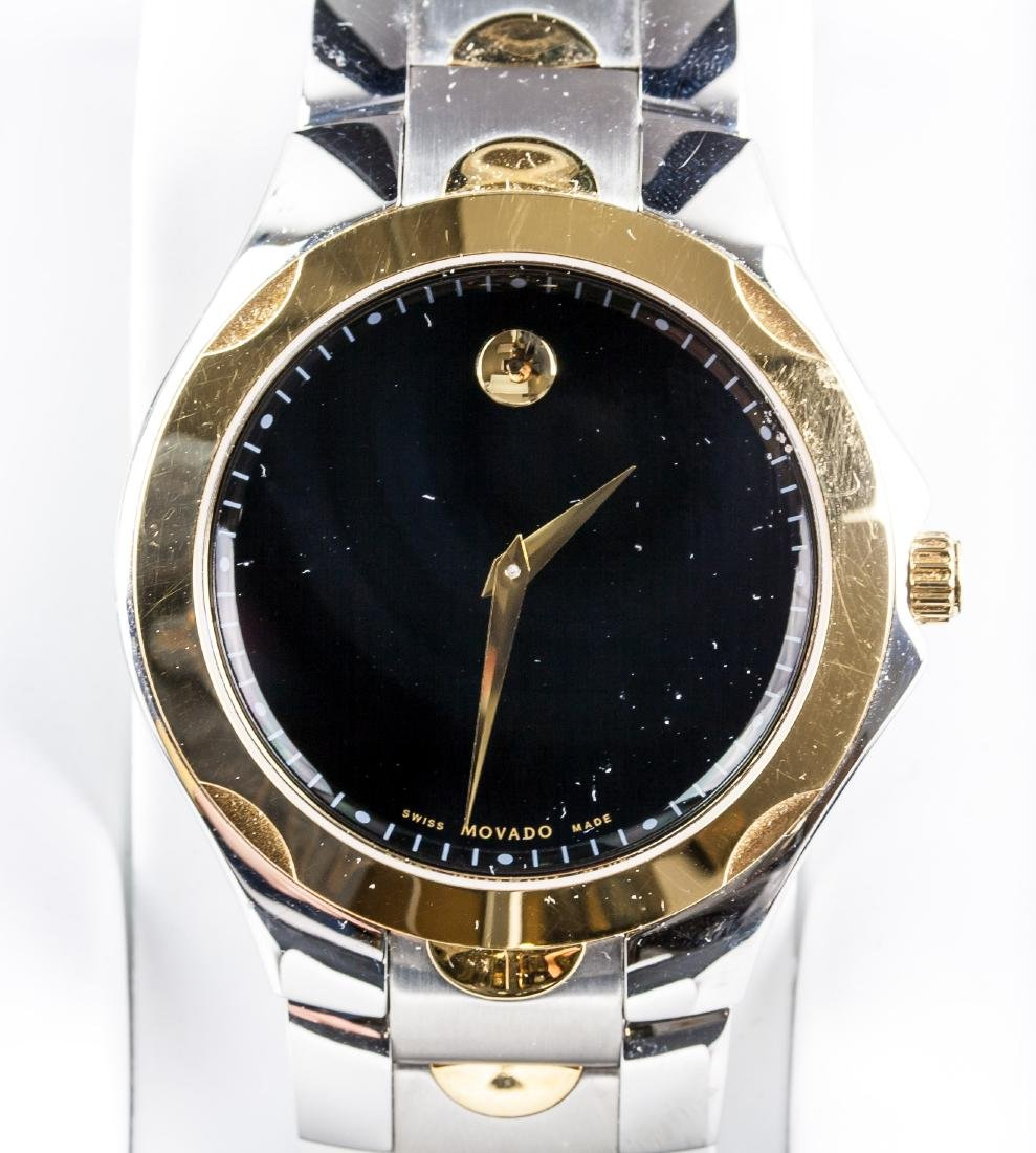 MOVADO Swiss Made Stainless Steel Watch RV $850