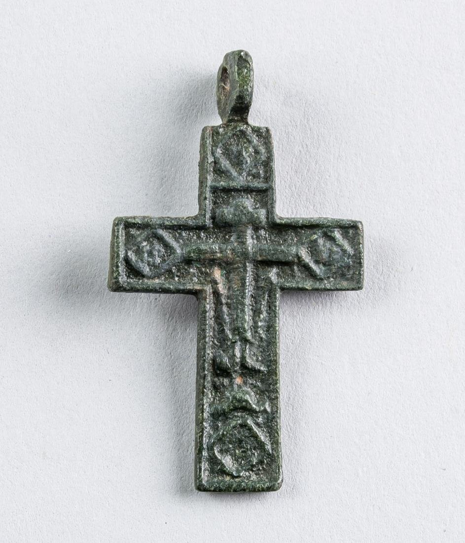 16th Century Russian Orthodox Cross Pendant
