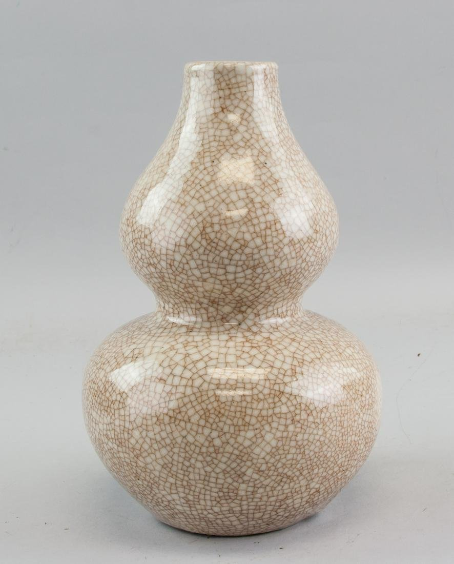 Chinese Song Style Crackle Glaze Porcelain Vase