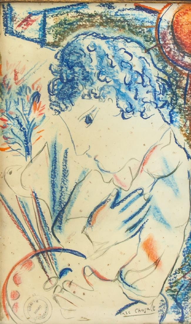 MARC CHAGALL French 1887-1985 Graphite Provenance