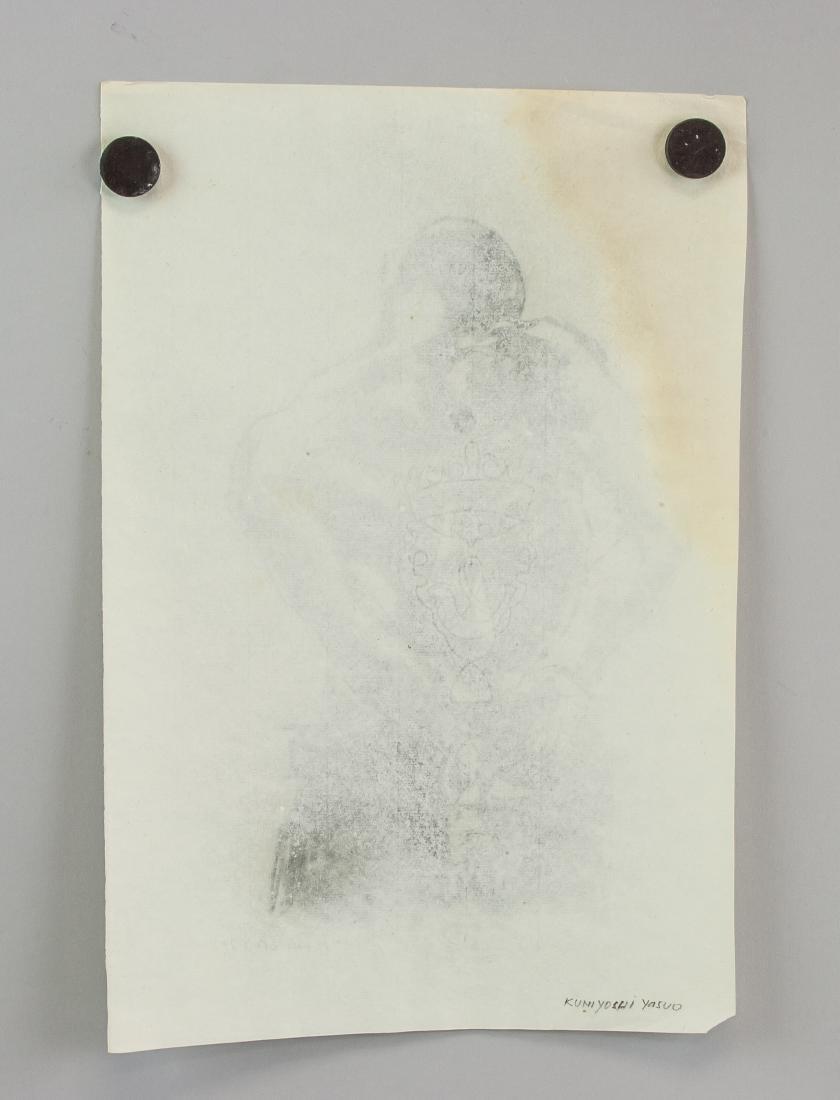 YASUO KUNIYOSHI Japanese-American 1889-1953 Paper - 5