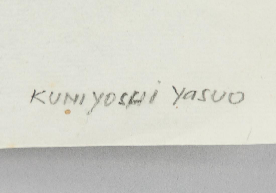 YASUO KUNIYOSHI Japanese-American 1889-1953 Paper - 6
