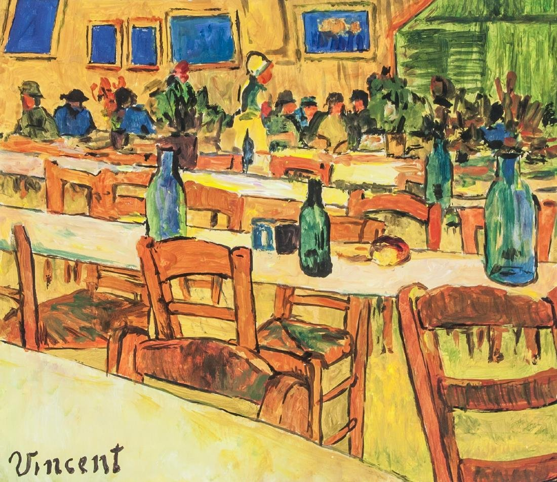 VINCENT VAN GOGH 1853-1890 Tempera on Paper