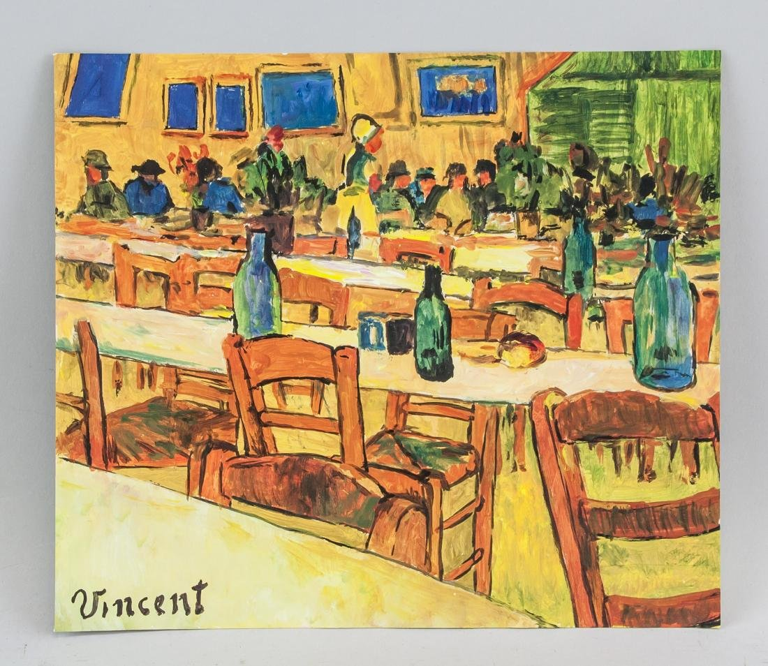 VINCENT VAN GOGH 1853-1890 Tempera on Paper - 2