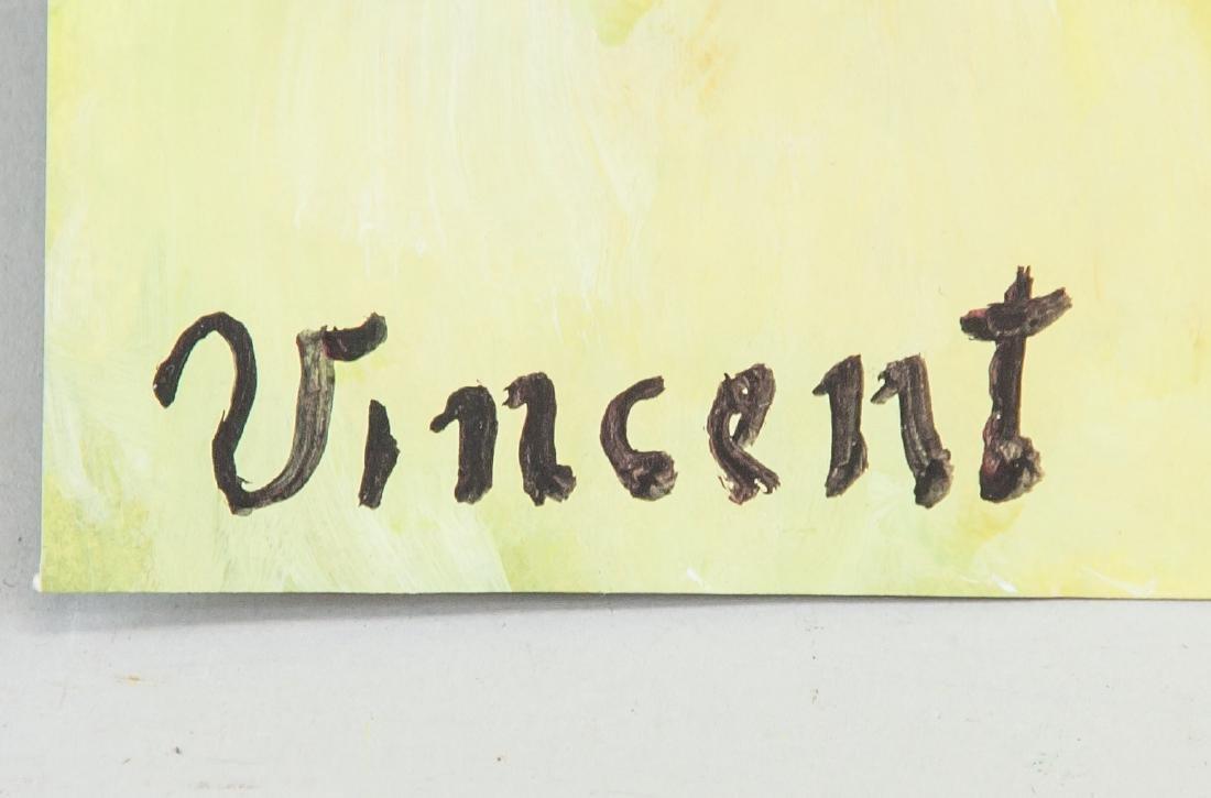 VINCENT VAN GOGH 1853-1890 Tempera on Paper - 4