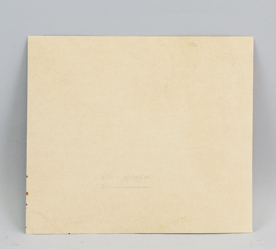 VINCENT VAN GOGH 1853-1890 Tempera on Paper - 5