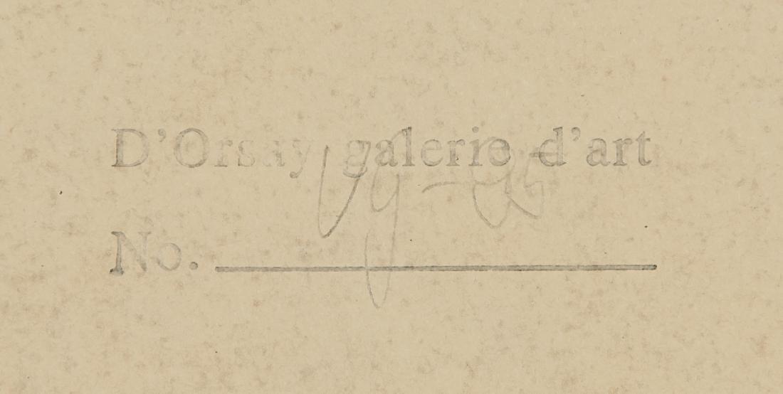 VINCENT VAN GOGH 1853-1890 Tempera on Paper - 6