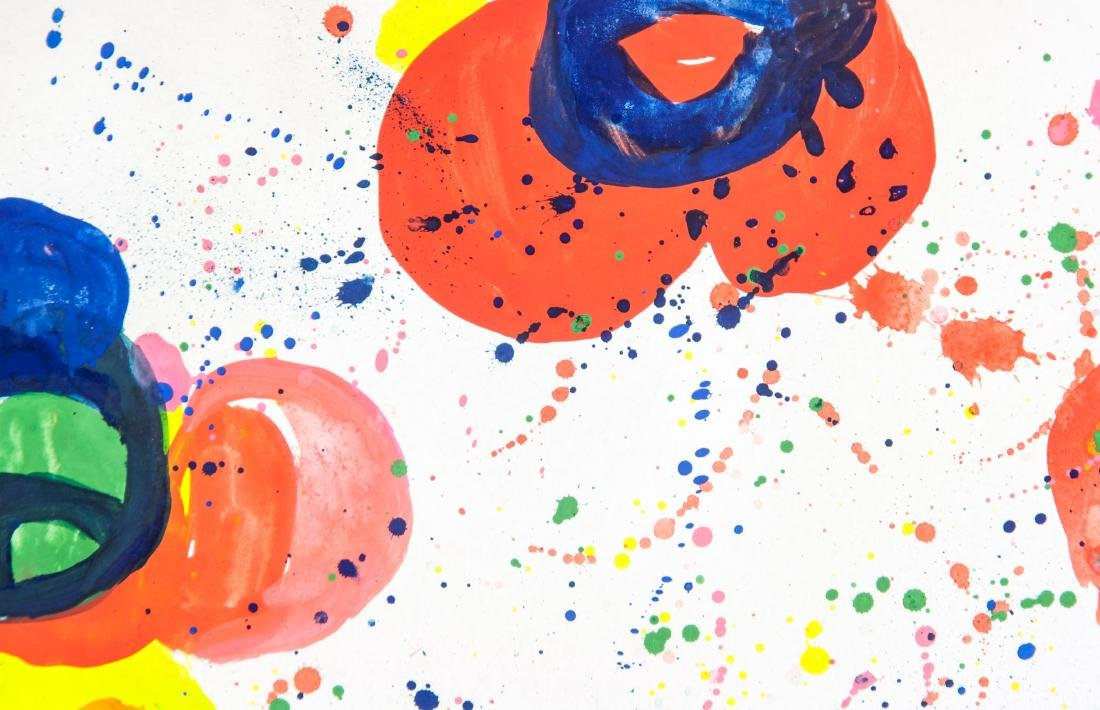 SAM FRANCIS US 1923-1994 WC & Acrylic on Paper - 3