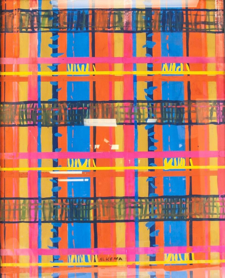 WOBBE ALKEMA Dutch 1900-1984 Gouache on Paper