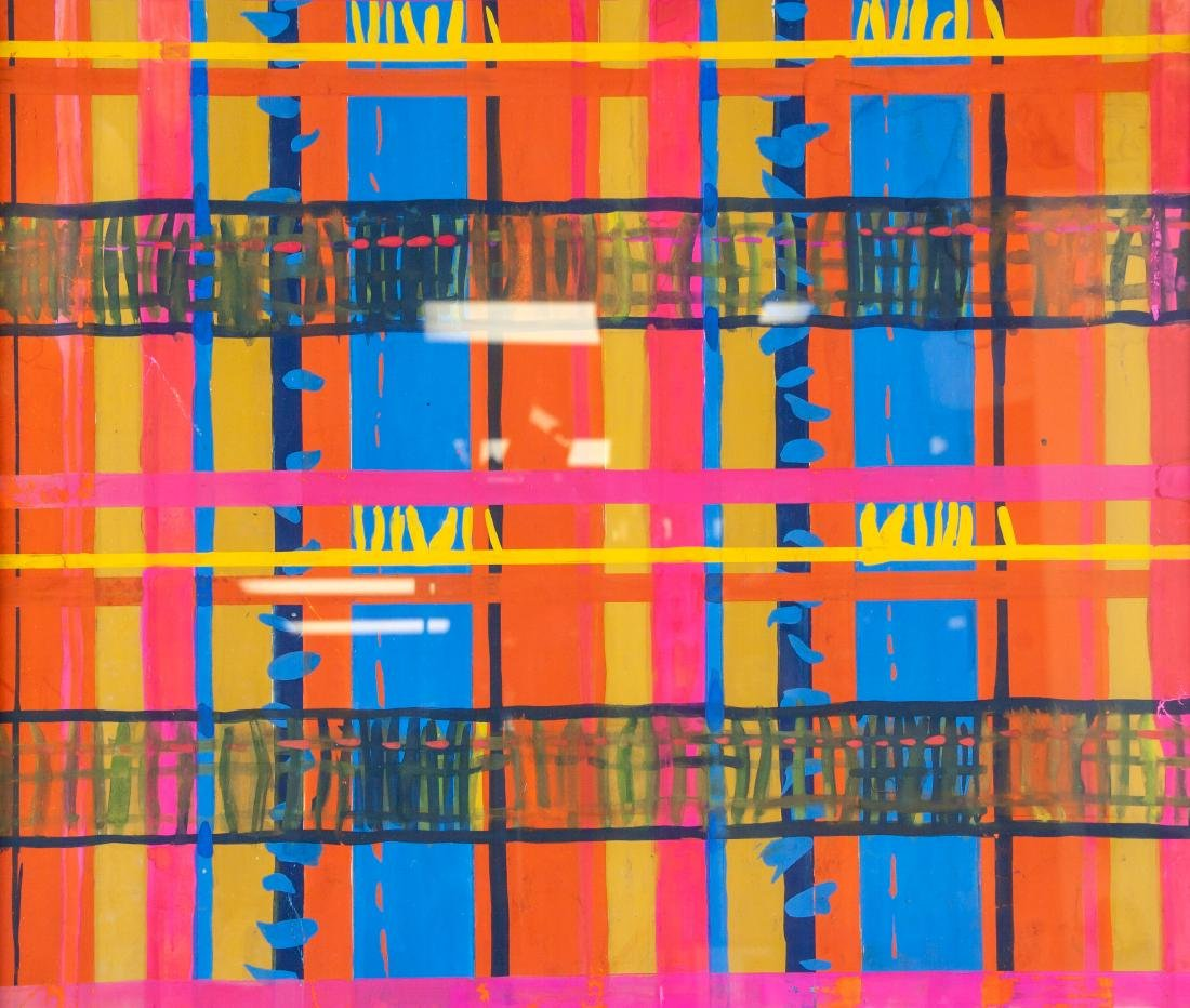 WOBBE ALKEMA Dutch 1900-1984 Gouache on Paper - 3