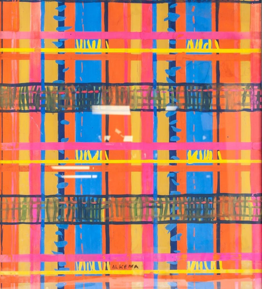 WOBBE ALKEMA Dutch 1900-1984 Gouache on Paper - 4