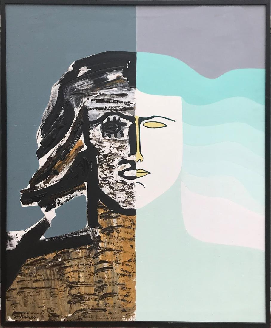 MARIA DOLORES ANDREO Spanish 1934-2006 Acrylic