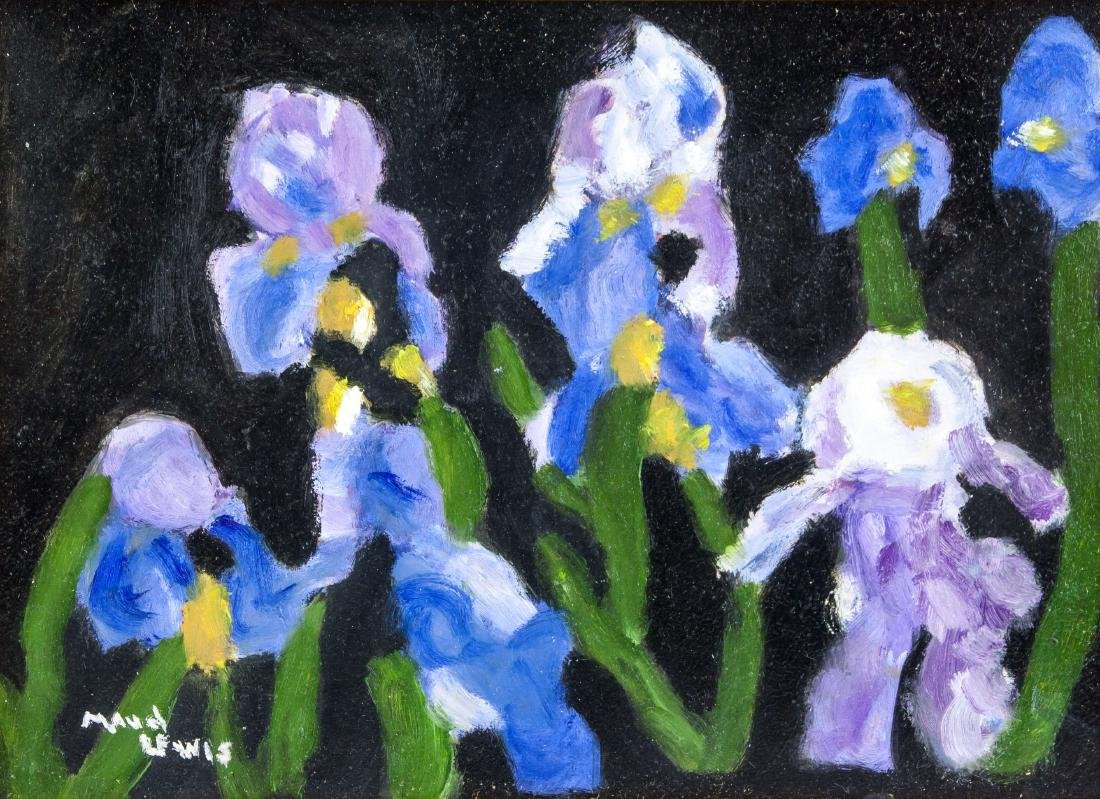 Canadian Oil on Board Still Life Painting Flowers