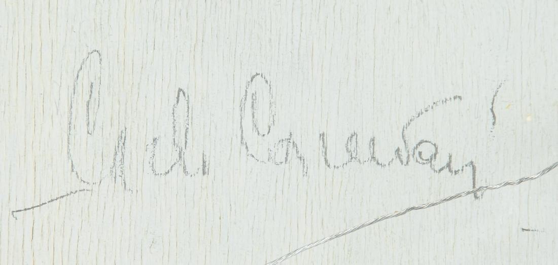CARLO CANEVARI Italian 1922-1996 Oil on Panel - 9