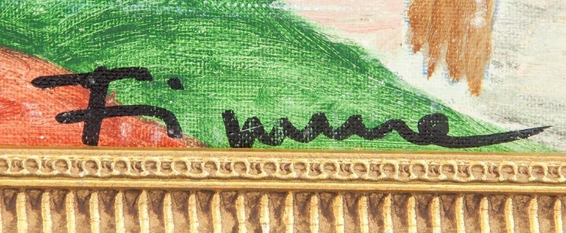 SALVATORE FIUME Italian 1915-1997 Oil on Board - 4