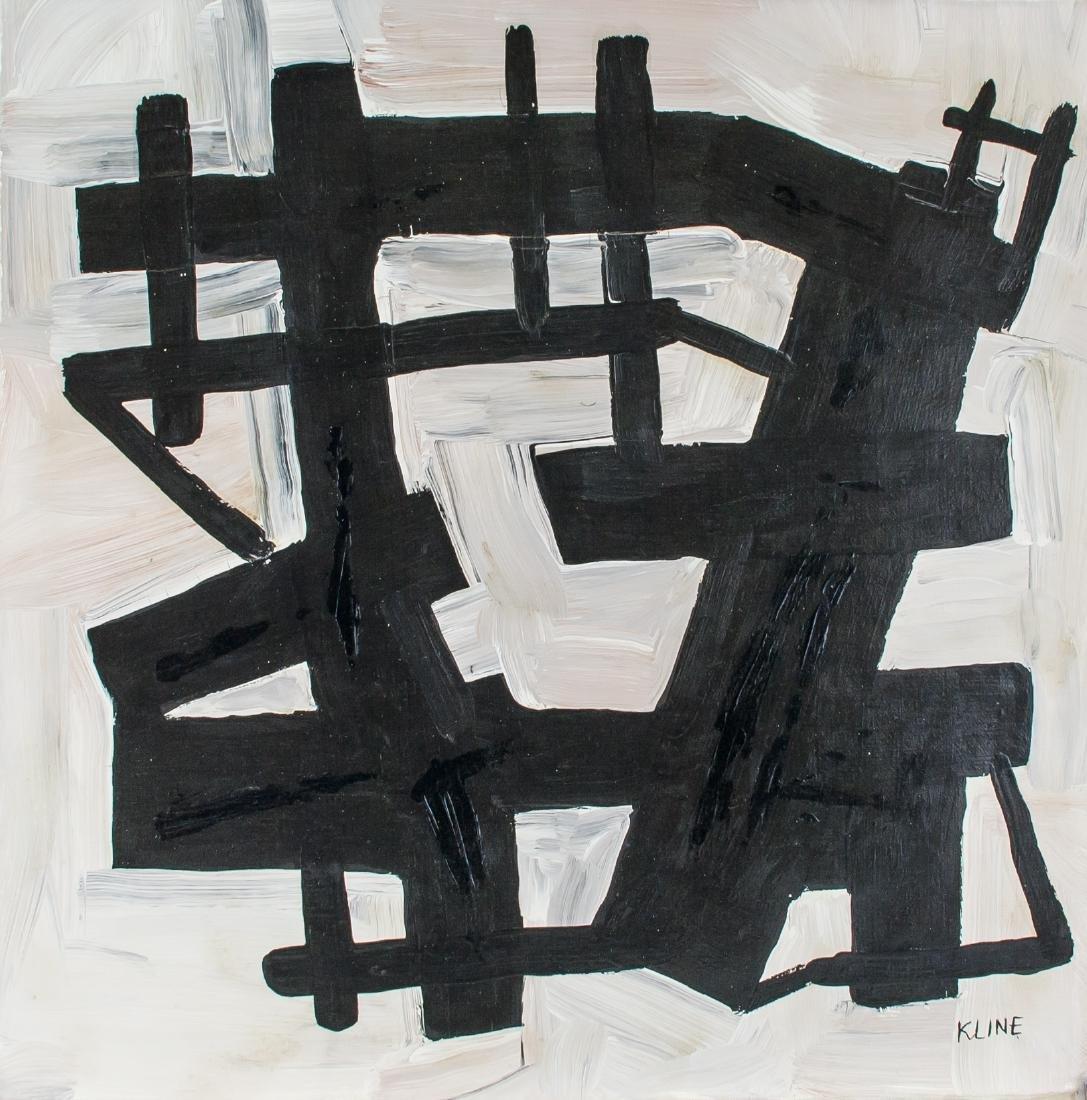 FRANZ KLINE American 1910-1962 Oil on Canvas