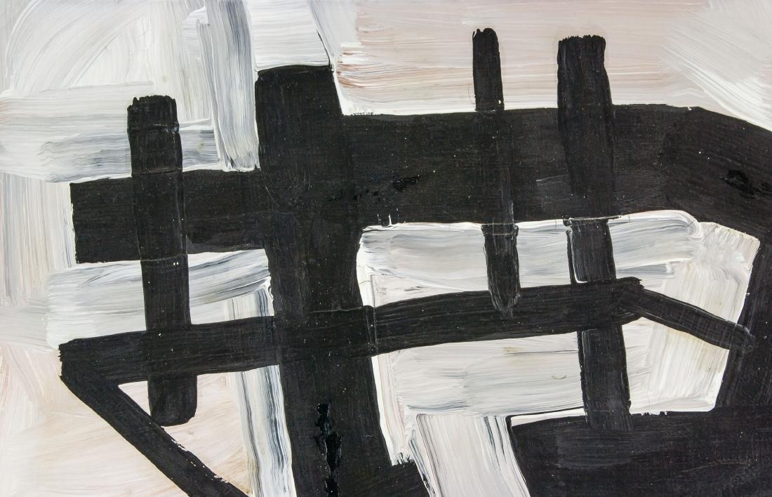FRANZ KLINE American 1910-1962 Oil on Canvas - 3