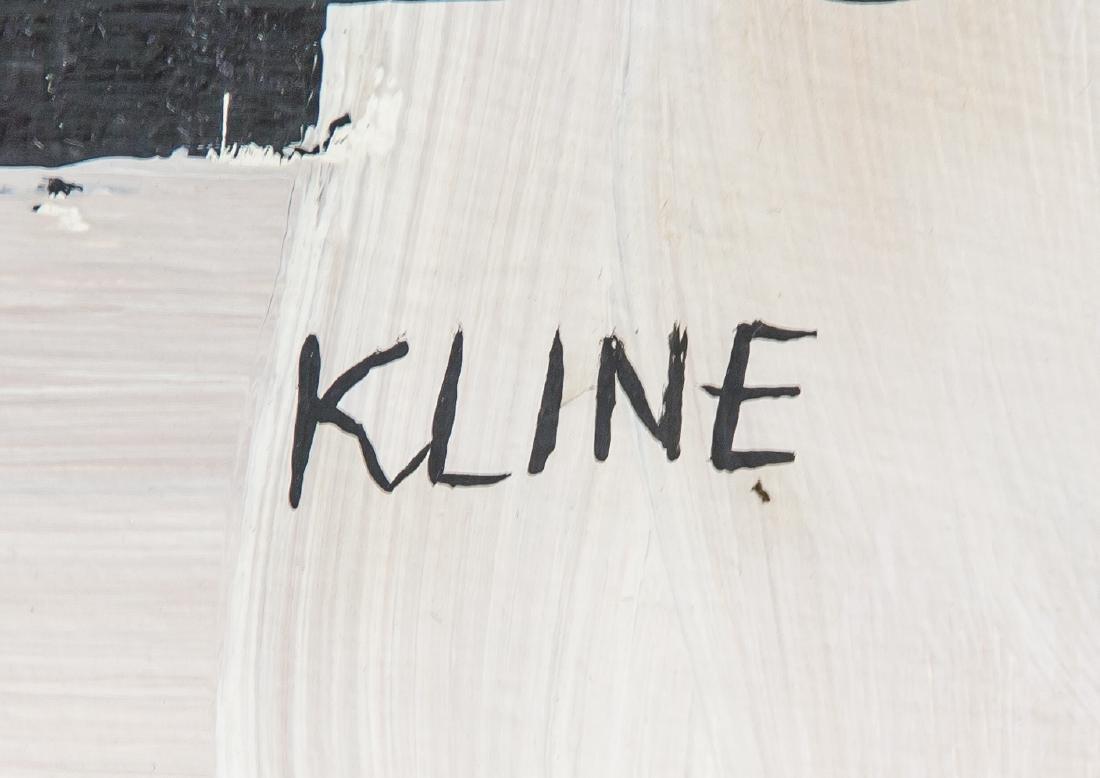 FRANZ KLINE American 1910-1962 Oil on Canvas - 4