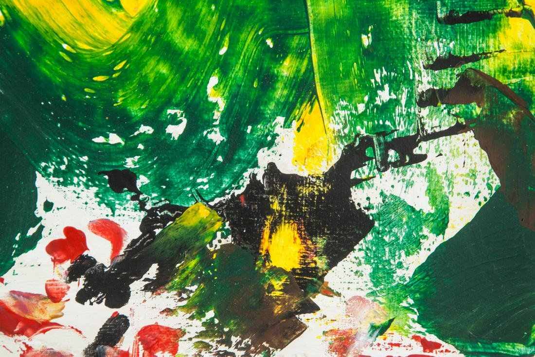 JOAN MITCHELL US 1925-1992 Oil on Canvas Abstract - 3