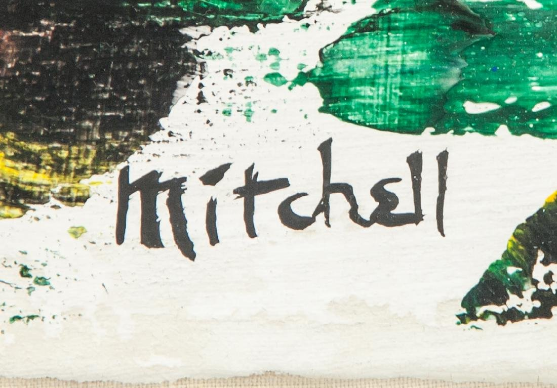 JOAN MITCHELL US 1925-1992 Oil on Canvas Abstract - 4