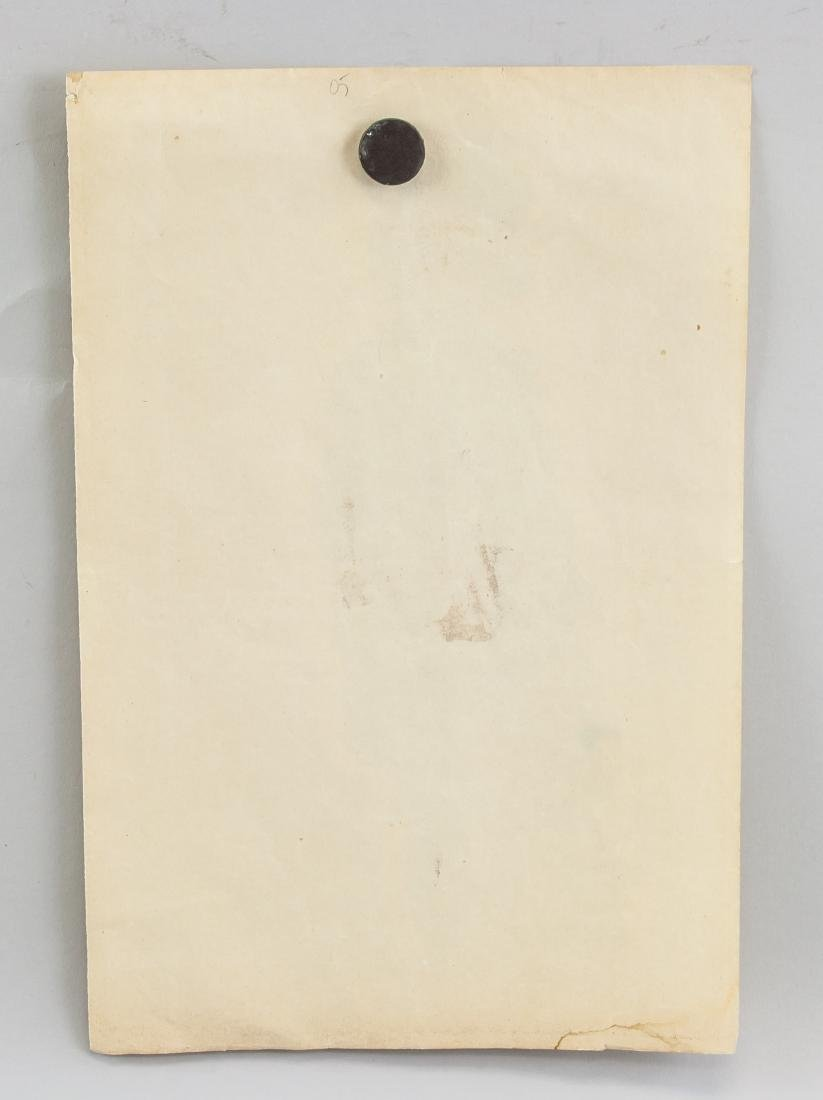 EGON SCHIELE Austrian 1890-1918 Mix Media on Paper - 5