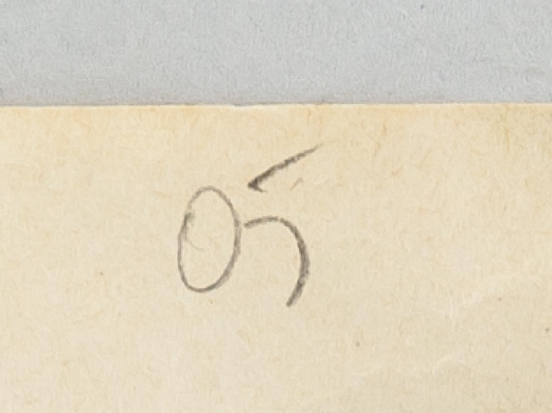 EGON SCHIELE Austrian 1890-1918 Mix Media on Paper - 6