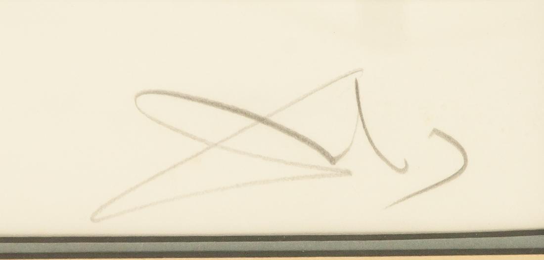 Framed After DALI Signed Etching - 4