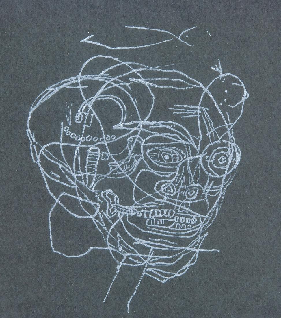 JEAN-MICHEL BASQUIAT US 1960-1988 Linocut Print - 3