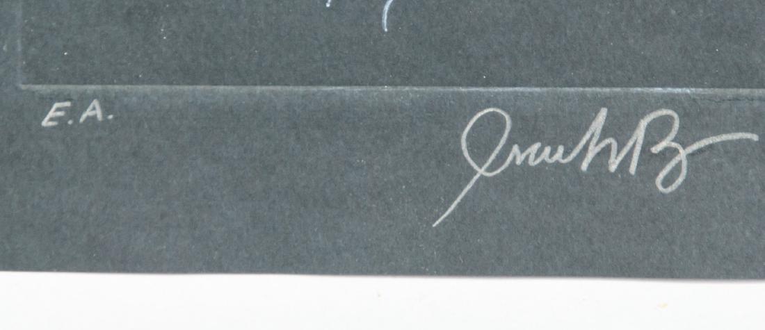 JEAN-MICHEL BASQUIAT US 1960-1988 Linocut Print - 4