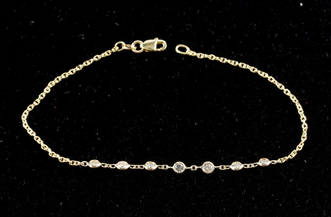 1.0ct Diamond Bracelet RV $3000