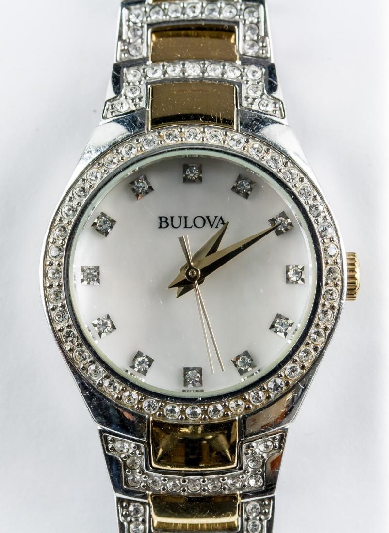 Bulova Crystal Analogue Watch RV $350