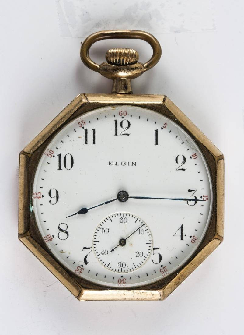 United States Vintage Elgin Pocket Watch
