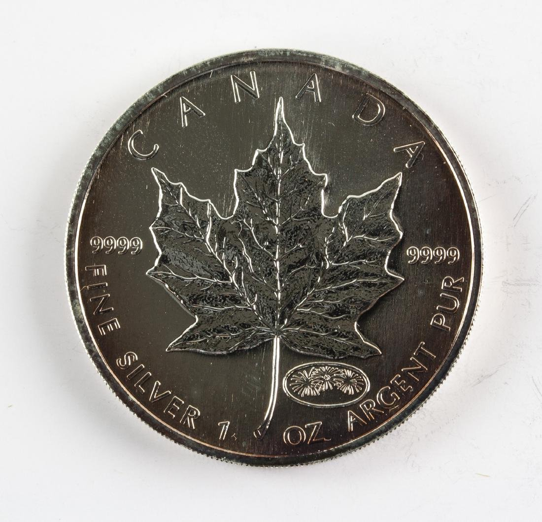 2000 Canada $5 Dollar Silver Coin