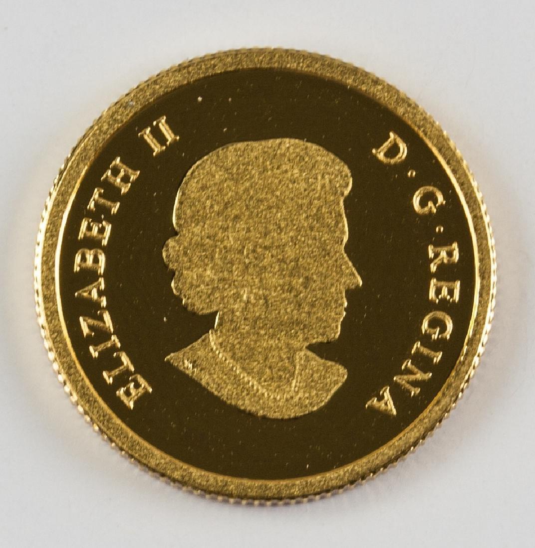 2014 RCM Issue .999 Fine Gold $5 Dollar Coin (COA)