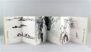 QI BAISHI Chinese 1864-1957 Watercolor Booklet