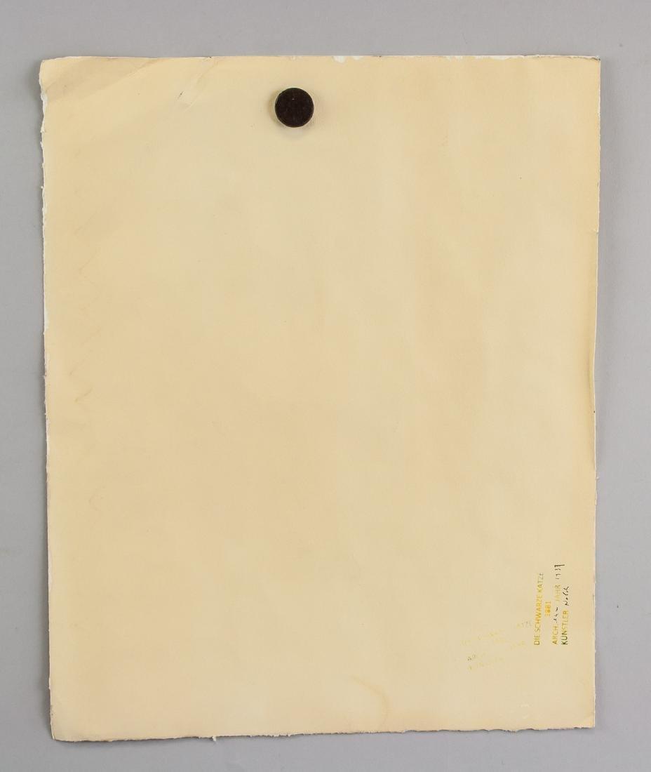 EMIL NOLDE German 1867-1956 WC on Paper - 5