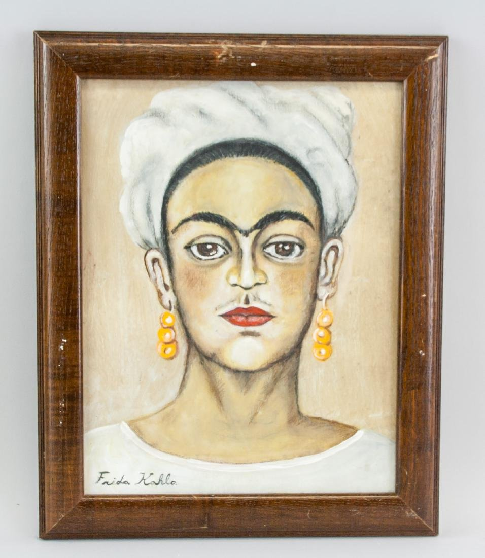 FRIDA KAHLO Mexican 1907-1954 Mixed Media on Paper - 2