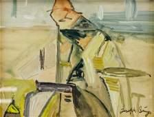 JOSEPH BEUYS German 19211986 Gouache on Paper