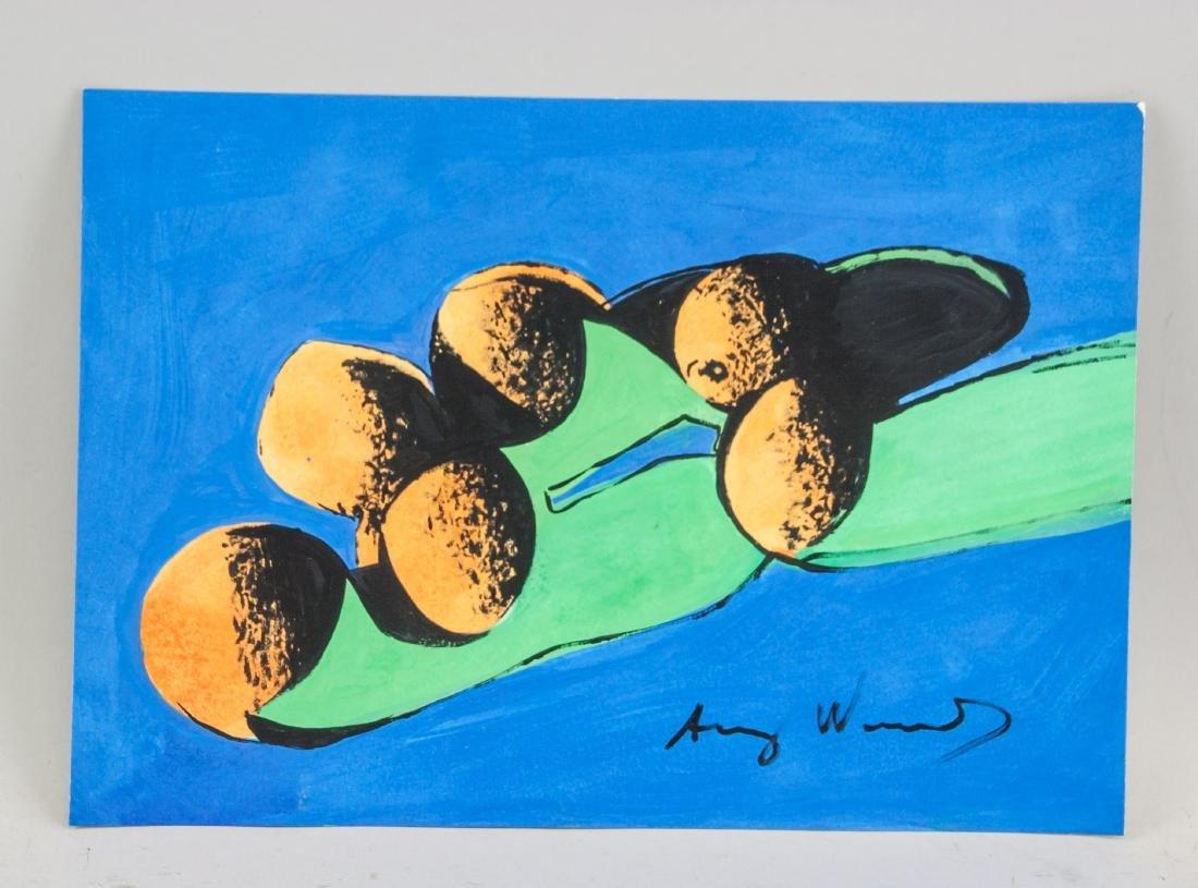 ANDY WARHOL American 1928-1987 Mixed Media Fruit - 2