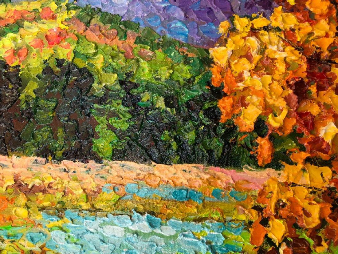 ALEX ANTANANKA Russian b. 1951 Acrylic on Canvas - 2